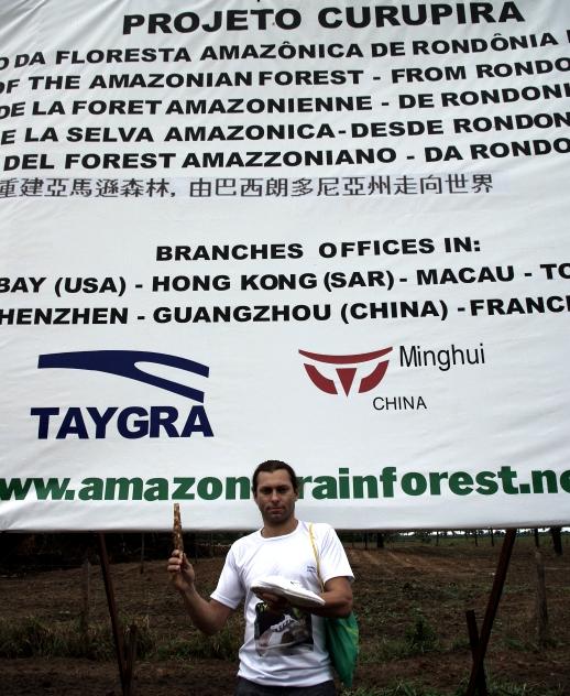 proyecto curupira con TAYGRA un par comprado una arbol plantada