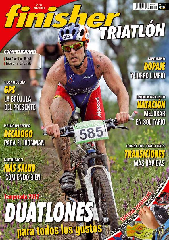 revista española FINISHER TRIATLON