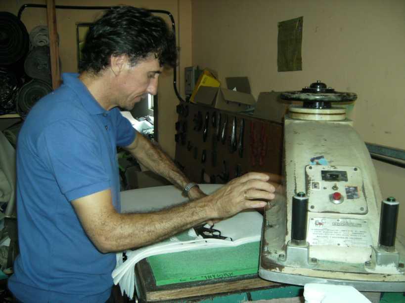 presse machine to cut shape