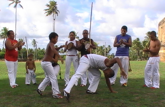 picture of capoeira