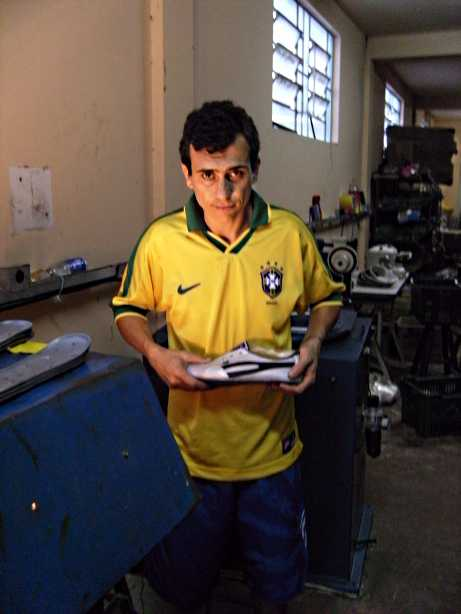 handmade shoes TAYGRA trainers factory handmade Brazil football player